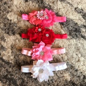 Other - 4 NEW never worn baby headbands